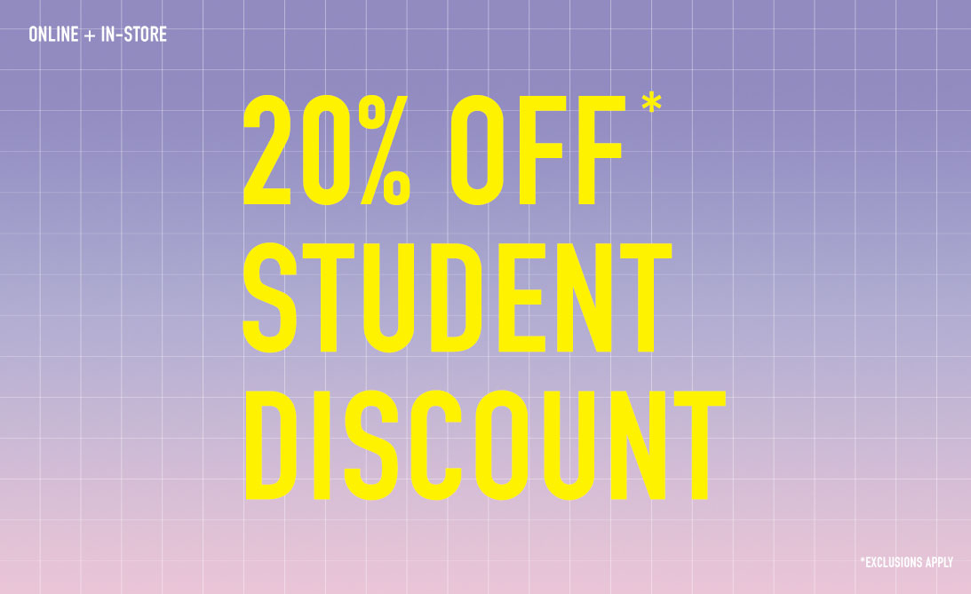 214a7a065c 20% off for students shop now