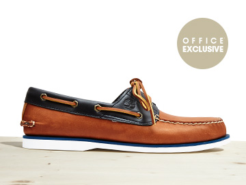 Exclusive Boat Shoe, £100