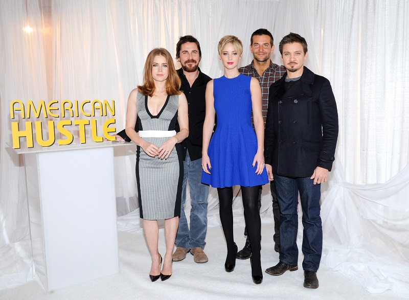 American Hustle Cast Photo Call