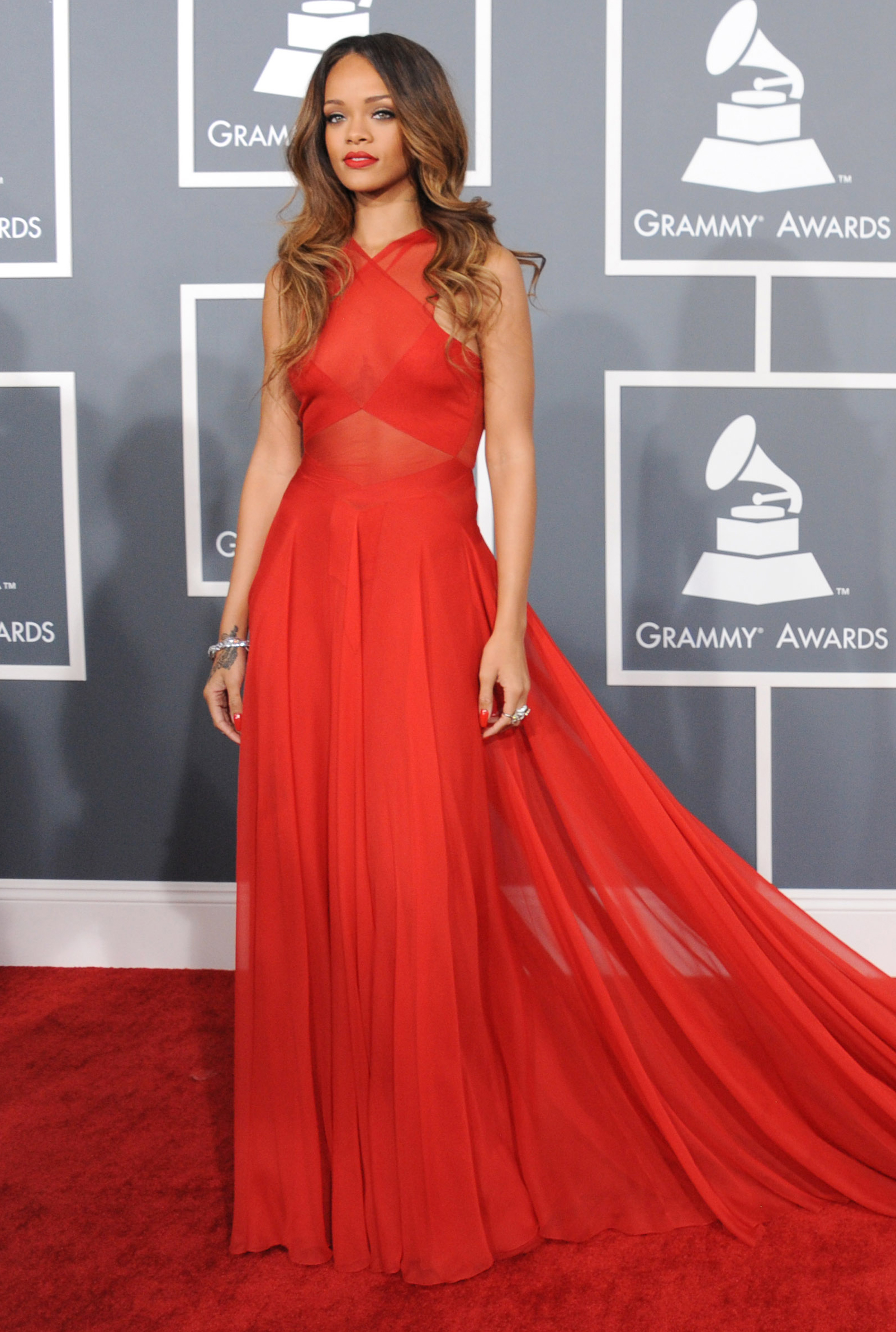 55th Annual Grammy Awards - Arrivals - Los Angeles