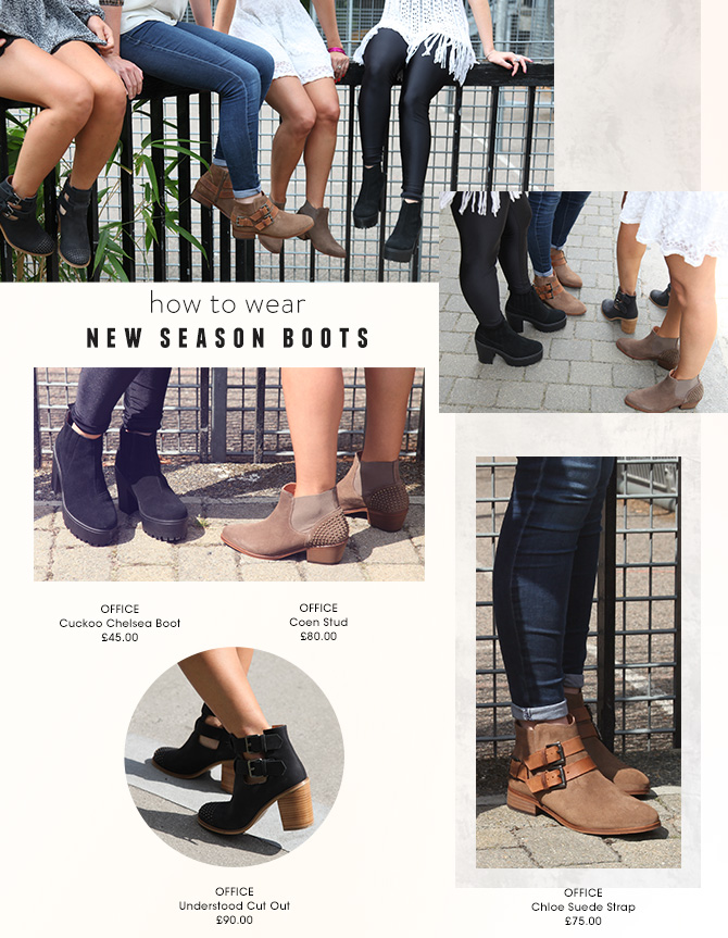New Season Boots How To Wear Shoe Diary