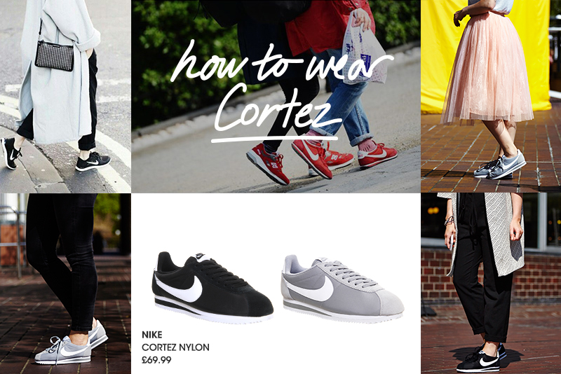how to wear nike cortez with jeans
