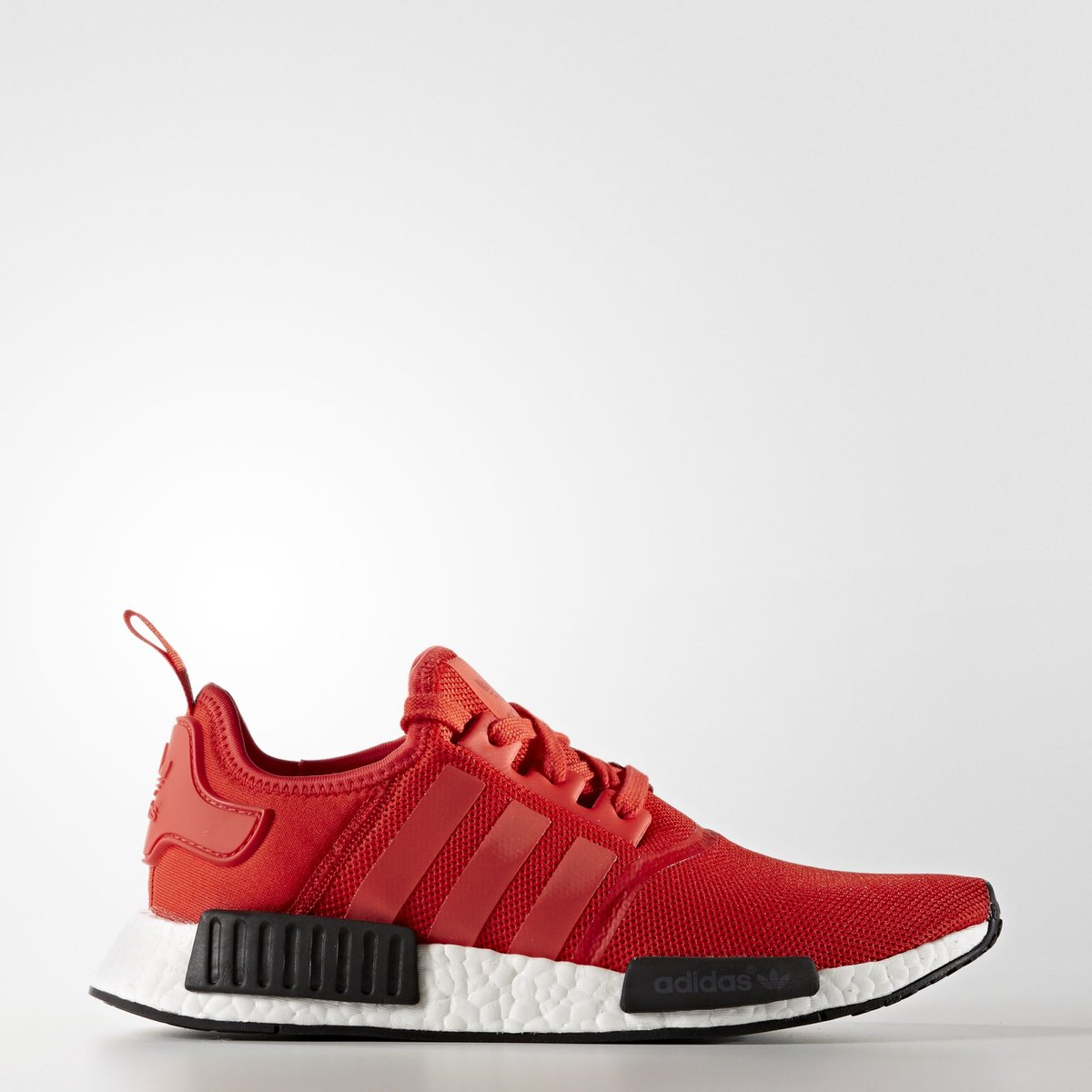 red white black nmd