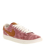 Nike Blazer low vintage Chianti red tan exclus...