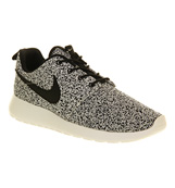 Nike Roshe run Black black sail camo ...