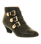 Jeffrey campbell Starburst Black leather