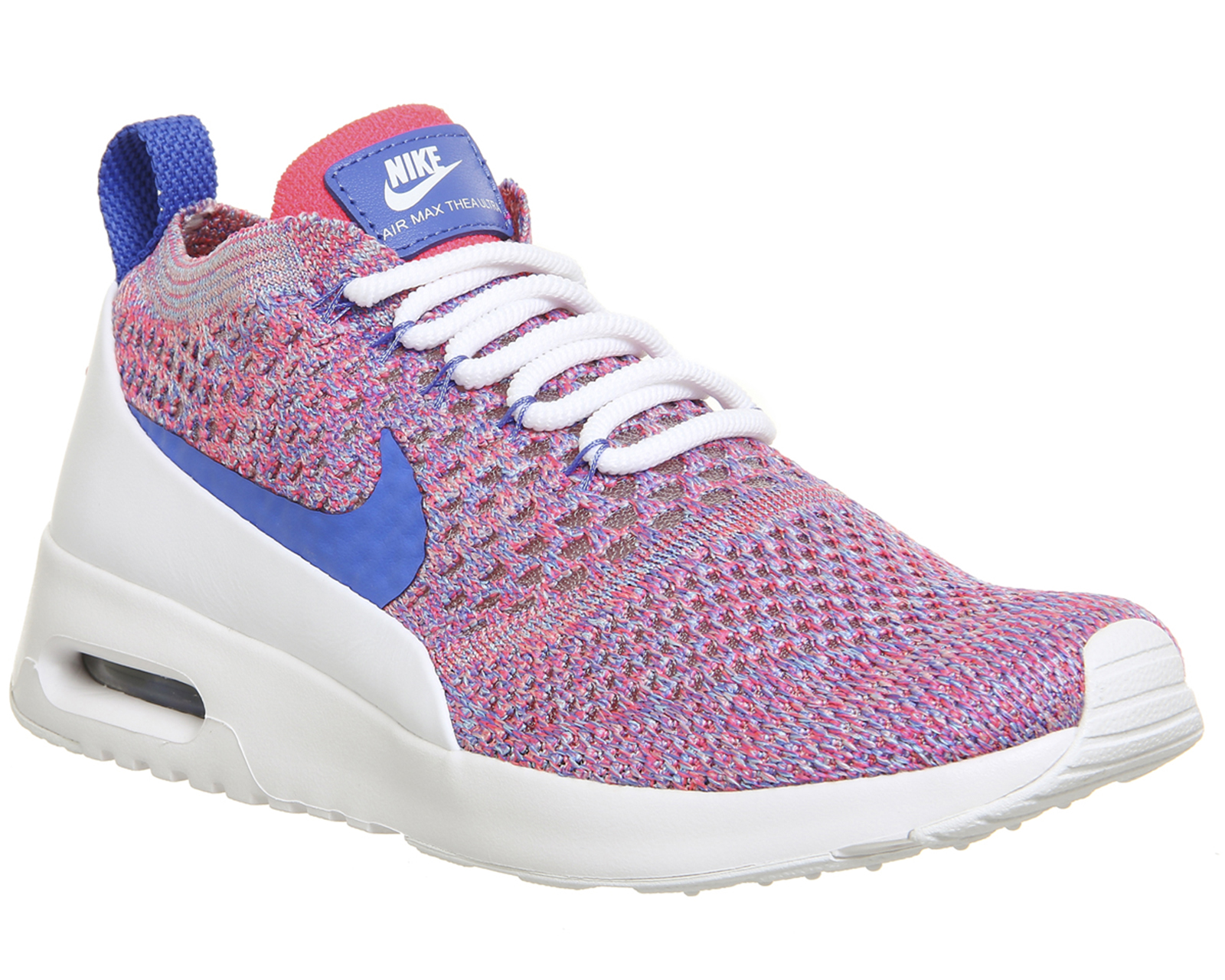 Details about Nike Air Max Thea Blue Pink White Running Gym Trainers Size 5 FREE RETURNS