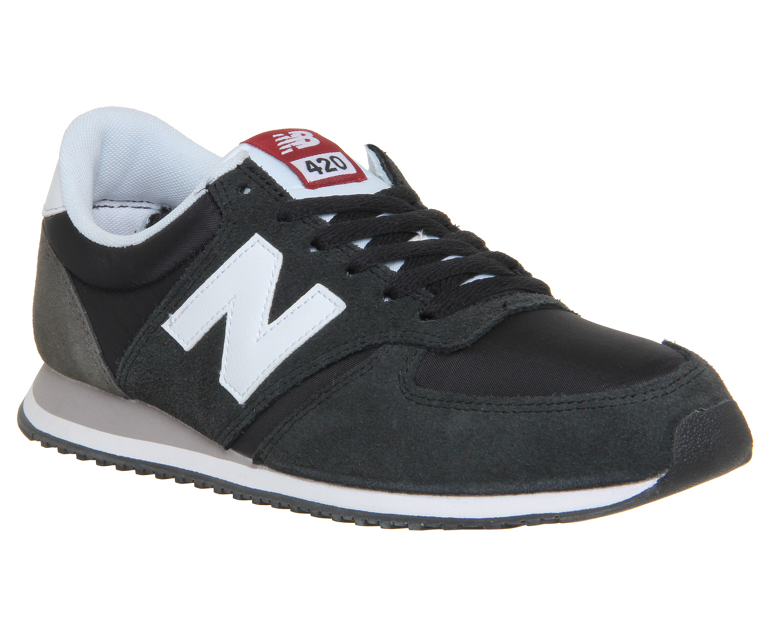 new balance trainers black and white