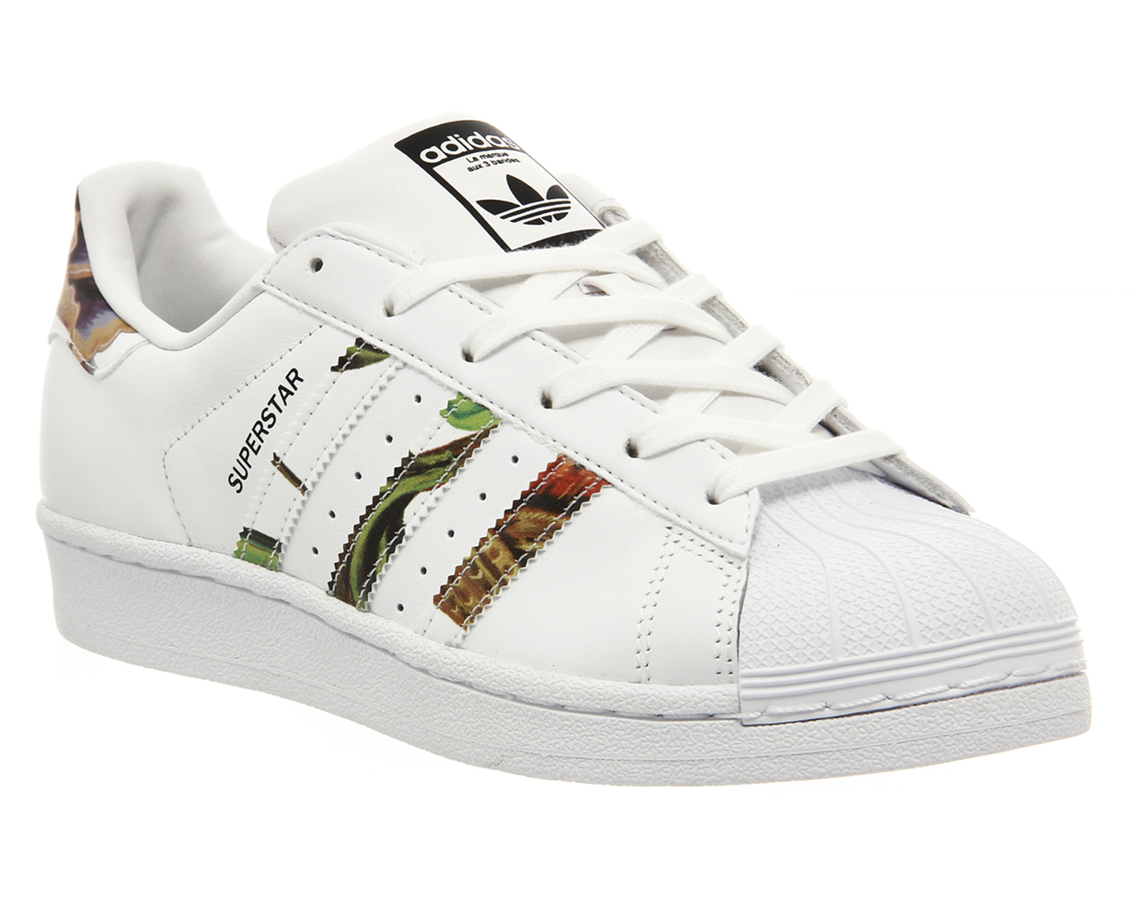adidas superstar kids floral