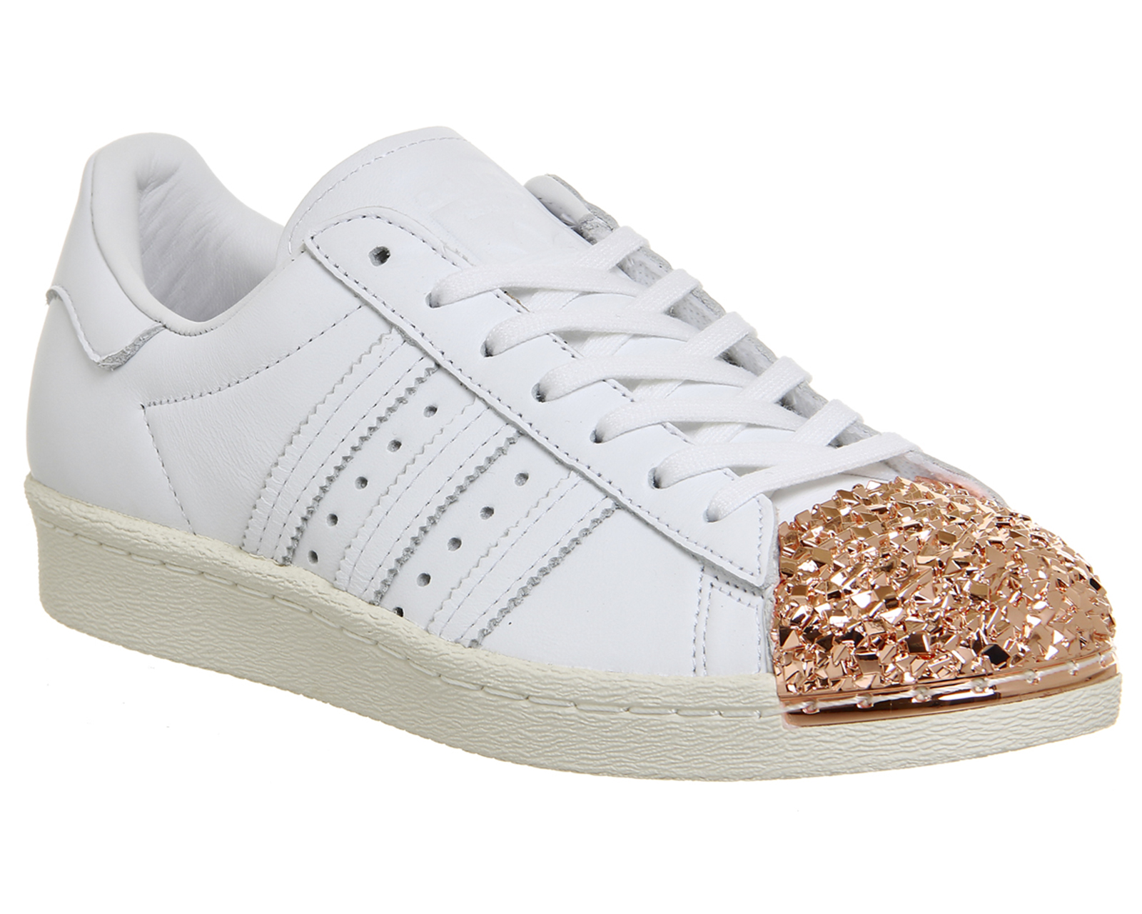 adidas originals superstar 80s metal toe rose gold